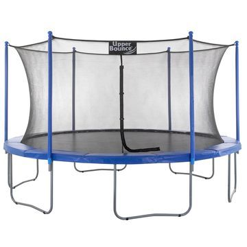 14-foot Trampoline & Enclosure Set equipped with the 'Upper Bounce Easy Assemble Feature'