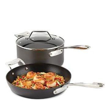 All-Clad Essentials Nonstick Large Fry & Sauce Pan Set