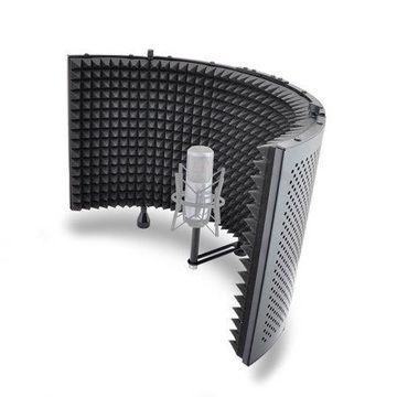 PYLE PSMRS11 - Microphone Isolation Shield with Sound Dampening Foam