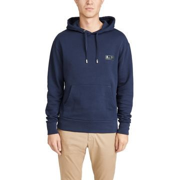 Maison Kitsune Long Sleeve Hoodie with MK Play Patch