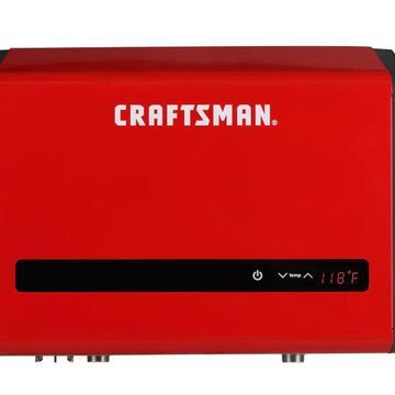 CRAFTSMAN 24-kW 240-Volt 4.63-GPM Electric Tankless Water Heater Stainless Steel | CM-XTEPA0024
