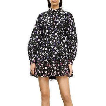 The Kooples Floral Print Shirt Dress