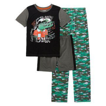 Rene Rofe Explorer Club 3-pc. Pajama Set Preschool / Big Kid Boys