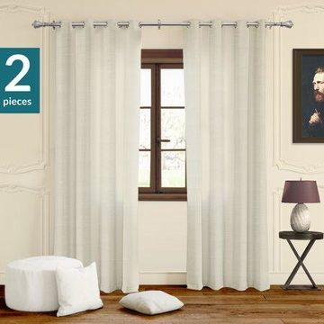 Chicology Privacy & Light Filtering Curtain Panels