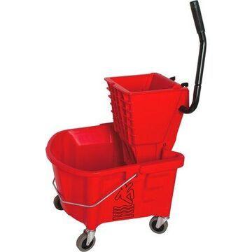 Genuine Joe Steel Handle Mop Bucket/Wringer Combo (GJO18800)