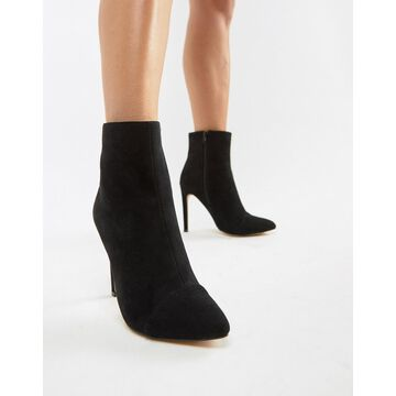 London Rebel Stiletto Ankle Boots
