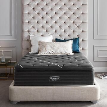 Beautyrest Queen Black K-Class 17.5 Inch Firm Pillow Top Mattress
