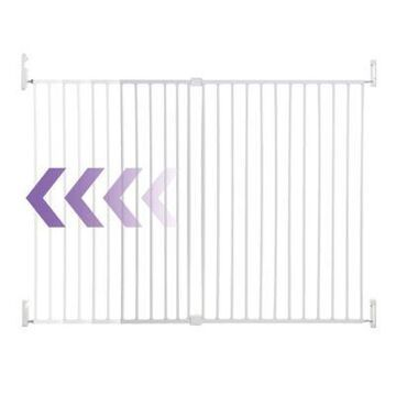 Dreambaby Broadway Wide and Tall Expandable Gate in White