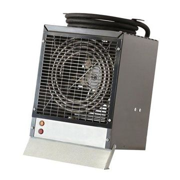 Dimplex Fan-Forced Enclosed Motor Construction Heater, Gray
