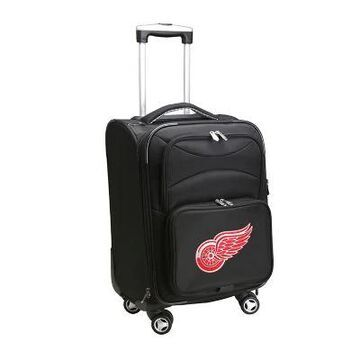 NHL Detroit Red Wings 20-Inch Carry On Spinner Luggage
