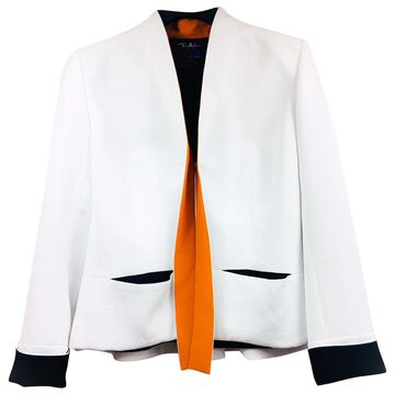 Thierry Mugler \N White Silk Jackets