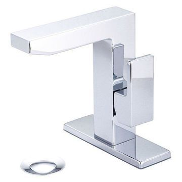 Mod Single Handle Lavatory Faucet, Polished Chrome