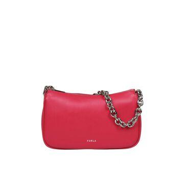 Furla Moon S Shoulder Bag In Smooth Leather