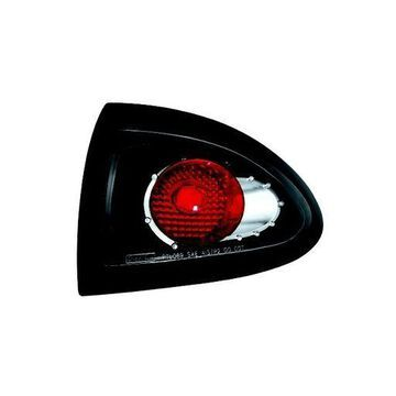 IPCW 95-02 Pontiac Sunfire Tail Lamps 4 Door (2 ps.Outer) Black CWT-CE306CB Pair