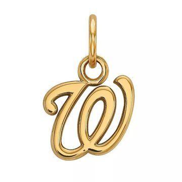 LogoArt 14K Gold Washington Nationals Pendant, Women's, Size: 15 mm