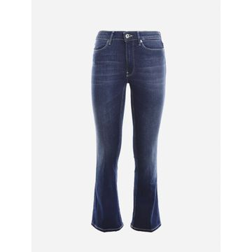 Dondup Stretch Cotton Flare Jeans
