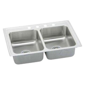 Elkay Lrad2922651 Double Bowl Lusterstone Sink