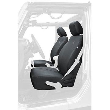 Bestop 29283-35 Black Diamond Front Seat Cover for 2013-2017 Jeep Wrangler 2DR