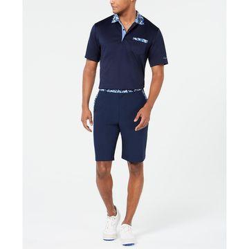 Men's Floral-Trim Shorts