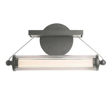 Hubbardton Forge Libra LED Sconce - Color: Clear - 209105-1005
