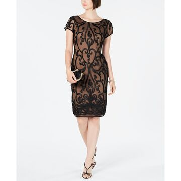 Soutache Illusion Dress, Created For Macy's