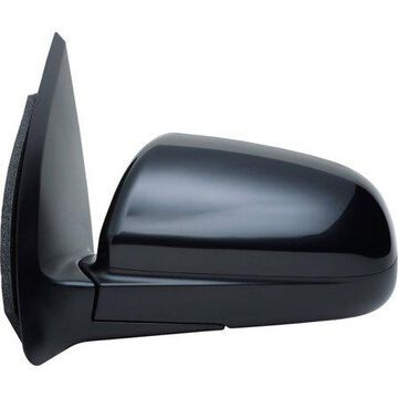 62746G - Fit System Driver Side Mirror for 07-11 Chevy Aveo Sedan, black, PTM cover, foldaway, Heated Power