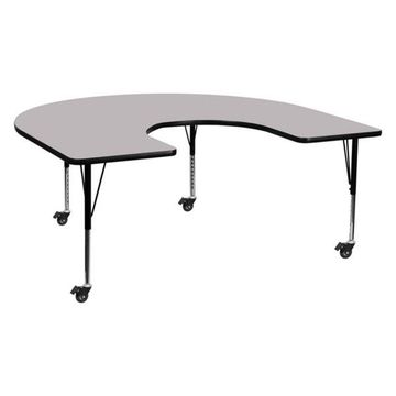 Flash Furniture Activity Table, Gray