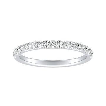 Auriya Platinum 1/3ctw Classic Diamond Wedding Band