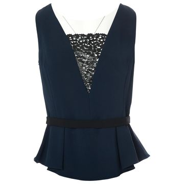 Peter Pilotto Navy Viscose Tops