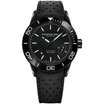 Raymond Weil 2760-SB1-20001 Mens Freelancer Black Automatic Watch