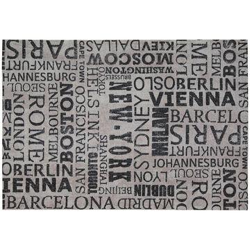 Waverly Sun N' Shade Printed City Words Indoor Outdoor Rug