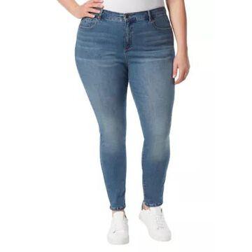 Gloria Vanderbilt Women's Plus Size Amanda Skinny Jeans - Average Fit - -