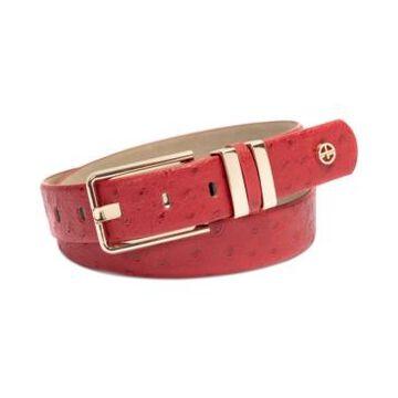 Giani Bernini Elongated-Buckle Belt, Created for Macy's