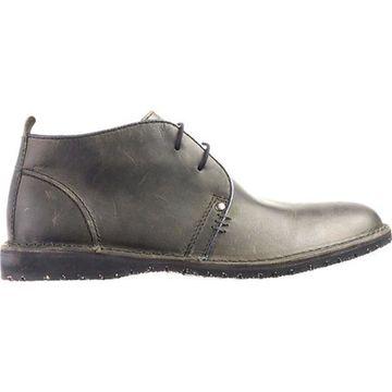 Crevo Men's Longport Charcoal Leather