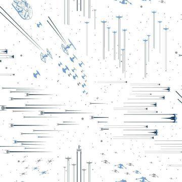 Star Wars: Galactic Battles Peel and Stick Wallpaper - RoomMates