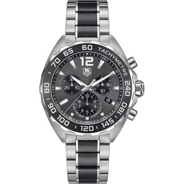 Tag Heuer Men's CAZ1111.BA0878 'Formula One' Chronograph Two-Tone Stainless Steel Watch (Tag Heuer Men's CAZ1111.BA0878 Stainless steel)