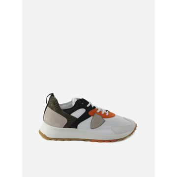Philippe Model Royale Mondial Pop Sneakers In Leather And Mesh