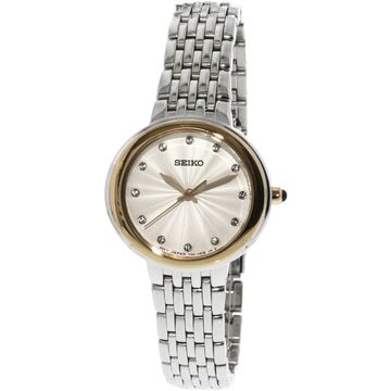 Seiko Women's SRZ502 Silver Stainless-Steel Japanese Quartz Dress Watch