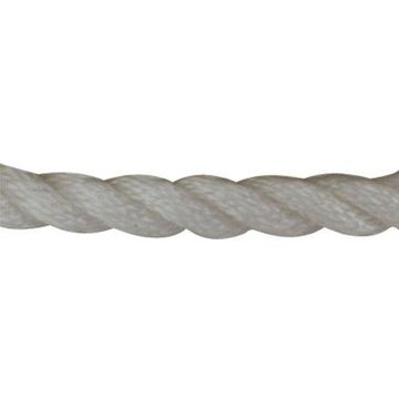 Sea-Dog 301112150Wh-1 Twisted Nylon Anchor Line With Thimble - 1/2
