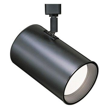 WAC Lighting Line Voltage Track Fixture in Black for L Track