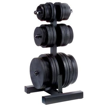 Body-Solid Olympic Plate Tree And Bar Holder