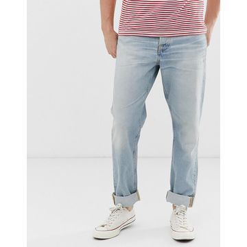 Nudie Jeans Co Steady Eddie II regular tapered fit jeans in epic wash