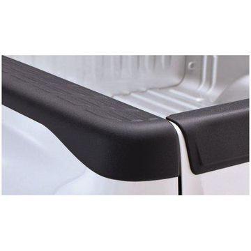 Bushwacker 07-13 GMC Sierra 1500 Fleetside Bed Rail Caps 78.7in Bed - Black