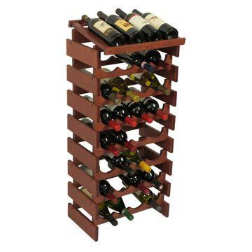 Dakota 32 Bottle Wine Rack with Display Top