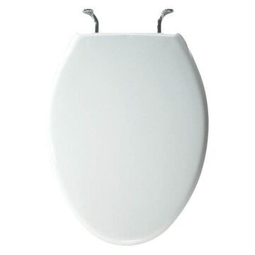 Bemis 1900CCP 000 Plastic Elongated Toilet Seat, White
