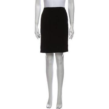 Knee-Length Skirt Black