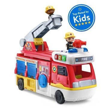 VTech Helping Heroes Fire Station Playset With Two Firefighters