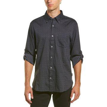 John Varvatos Star Usa Mens John Varvatos Star U.S.A. Cuffed Woven Shirt