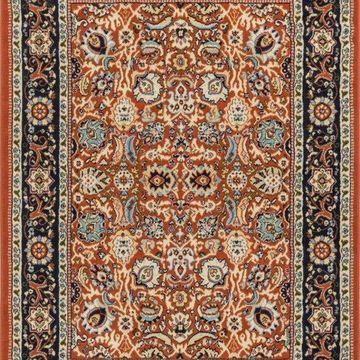 Well Woven Persa Tabriz Traditional Oriental Persian Terracotta Area Rug