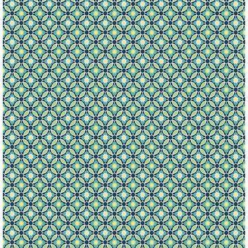 Brewster 2657-22243 Audra Blue Floral Wallpaper